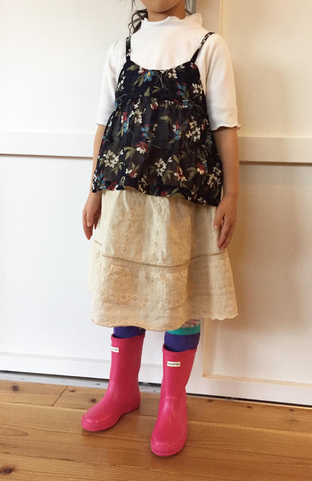 haco! HUNTER KIDS ファーストクラシック <ピンク>の商品写真6
