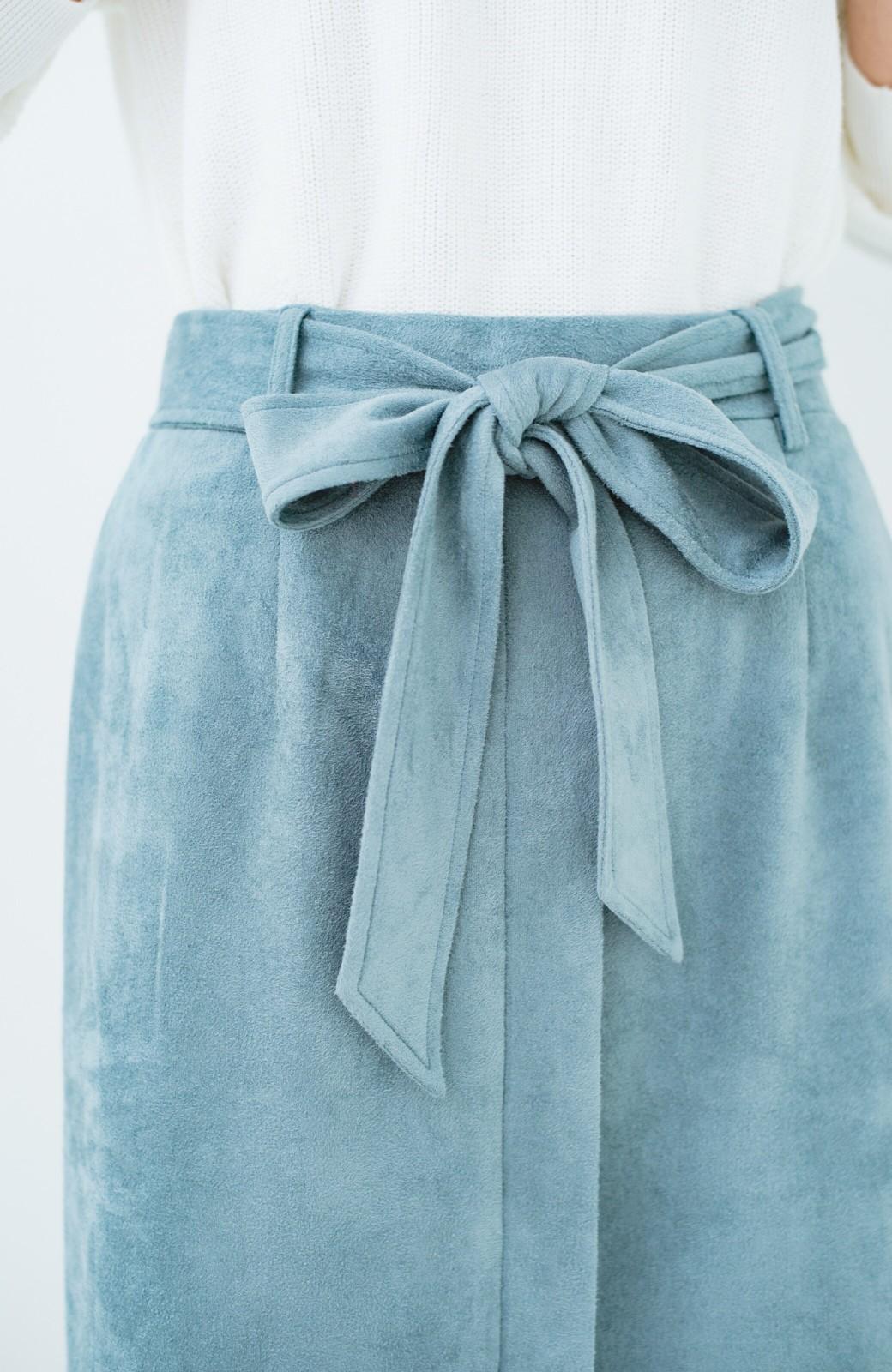 haco! 大人が安心して着られるタイトスカート by que made me <グレイッシュブルー>の商品写真7
