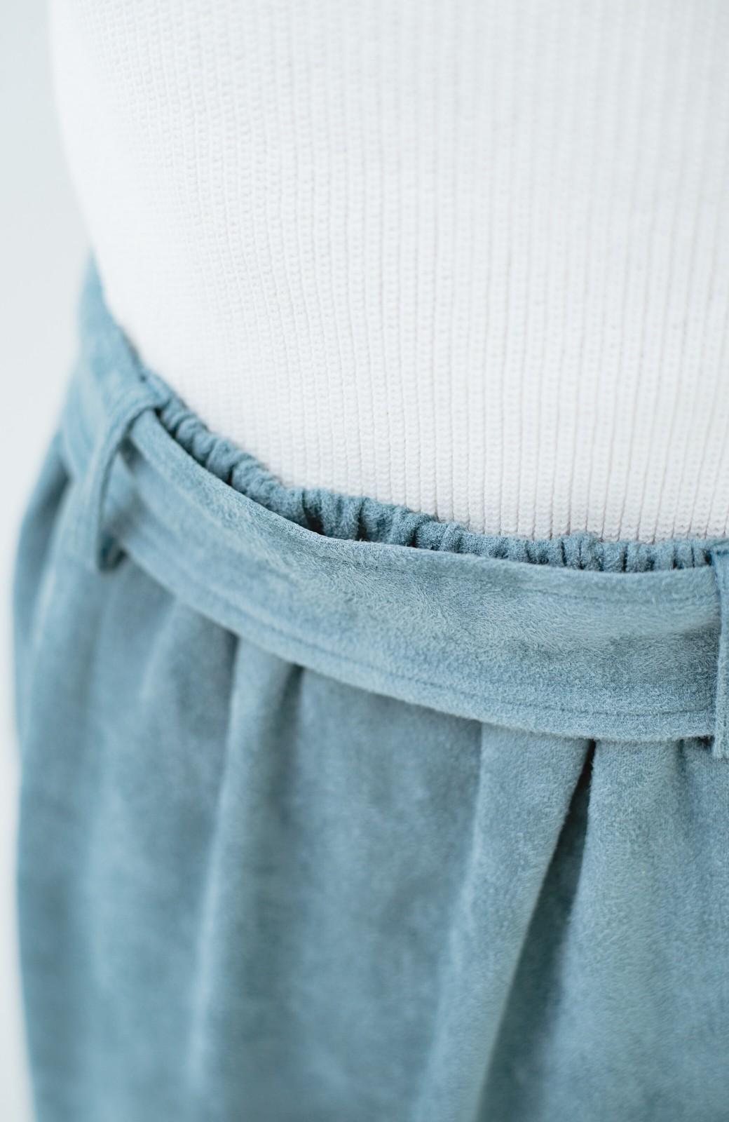 haco! 大人が安心して着られるタイトスカート by que made me <グレイッシュブルー>の商品写真8