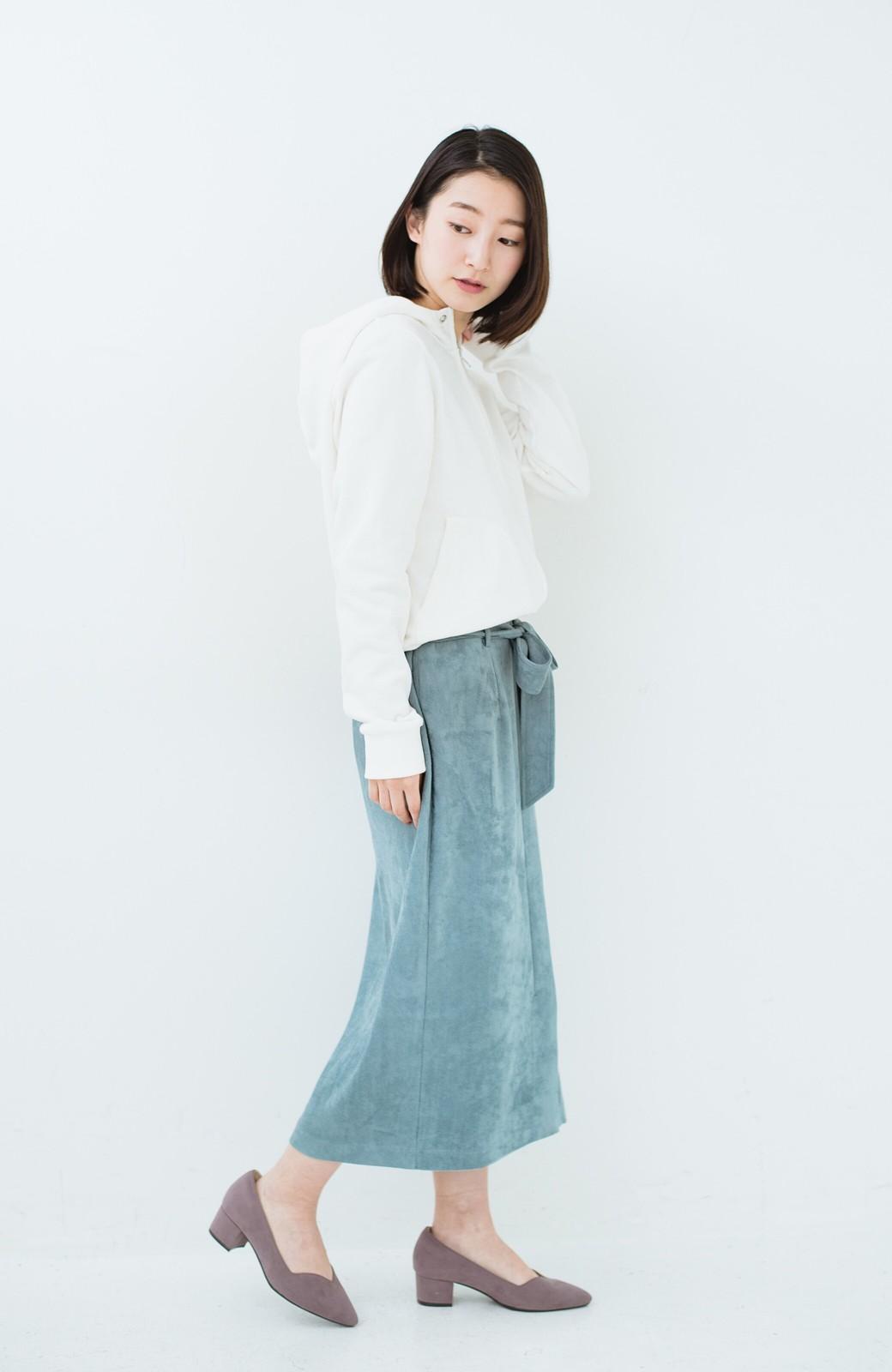 haco! 大人が安心して着られるタイトスカート by que made me <グレイッシュブルー>の商品写真15