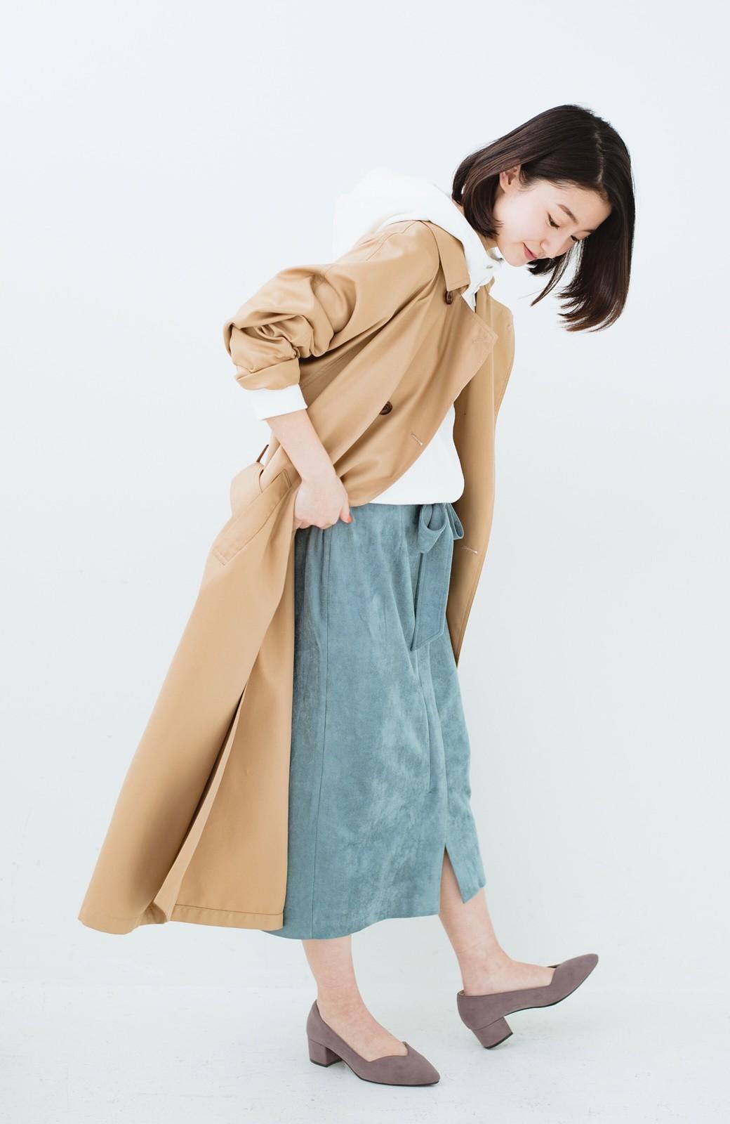 haco! 大人が安心して着られるタイトスカート by que made me <グレイッシュブルー>の商品写真16