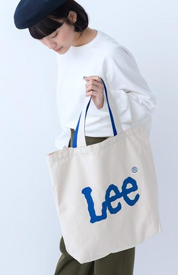 haco! Lee 西日本別注 ロゴトート <ブルー>の商品写真