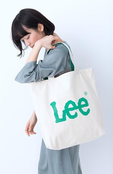 haco! Lee 西日本別注 ロゴトート <グリーン>の商品写真