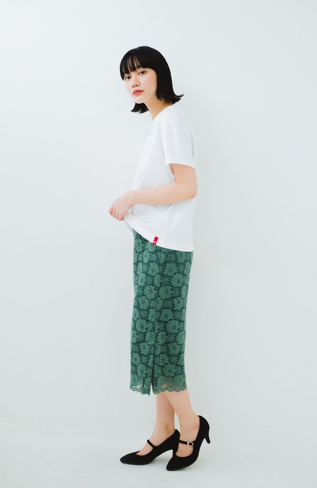 haco! Dickies 別注 ワイドボトムスと相性がいいボックスロゴTシャツ <ホワイト>の商品写真5