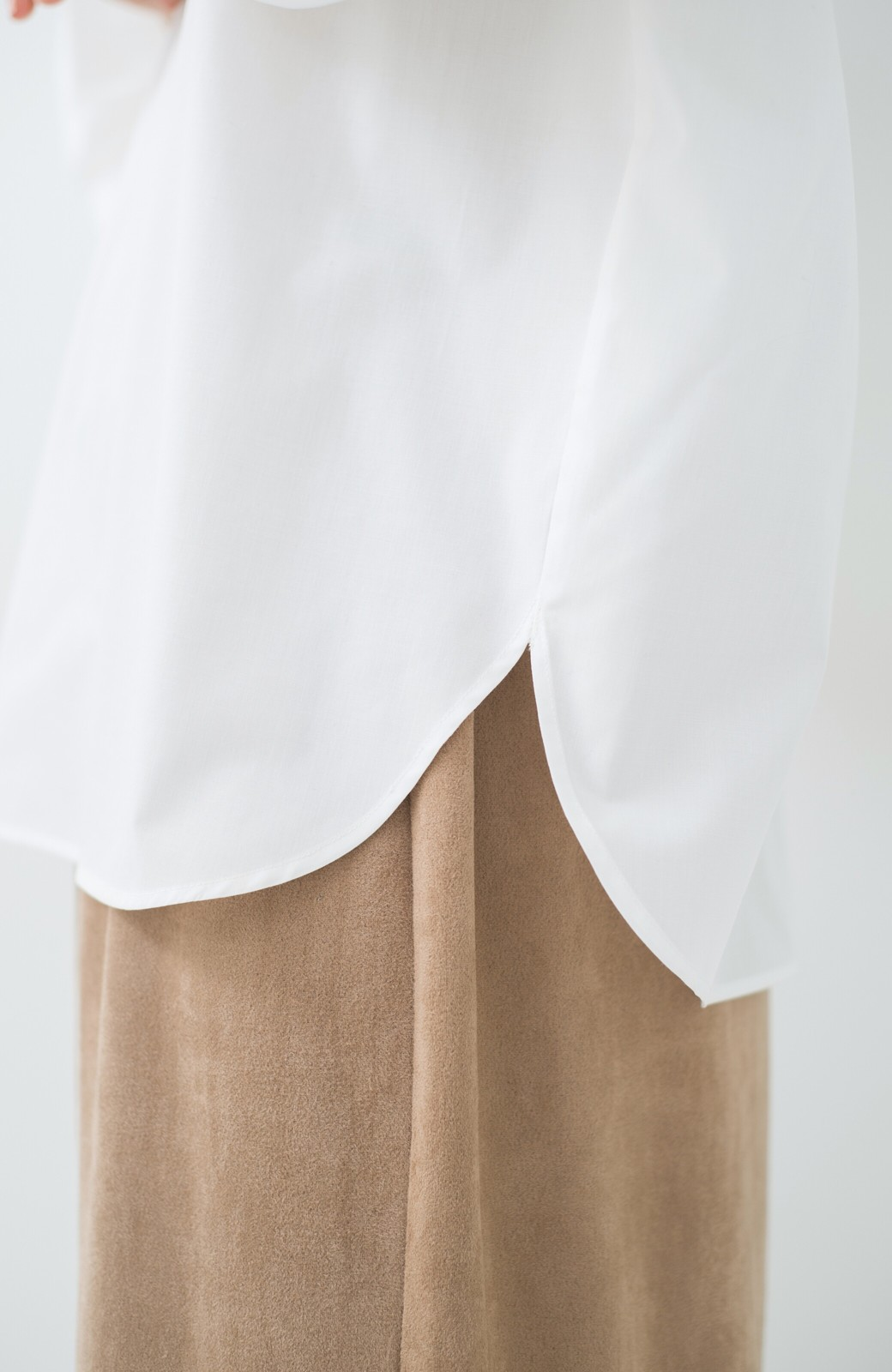 haco! Tシャツのかわりに着たい バルーンスリーブブラウス by que made me <ホワイト>の商品写真4