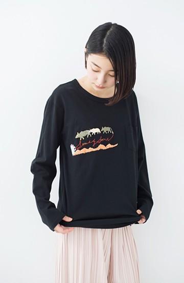 haco! Stitch by Stitch 刺しゅうを楽しむビッグシルエットTシャツ<SBSロゴ> <その他>の商品写真