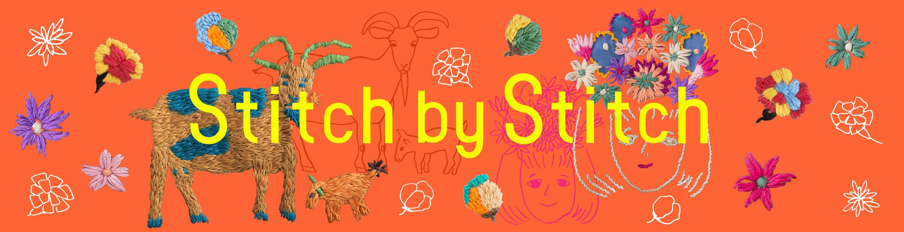 \第四弾/Stitch by Stitchの色鮮やかな手刺しゅうアイテム
