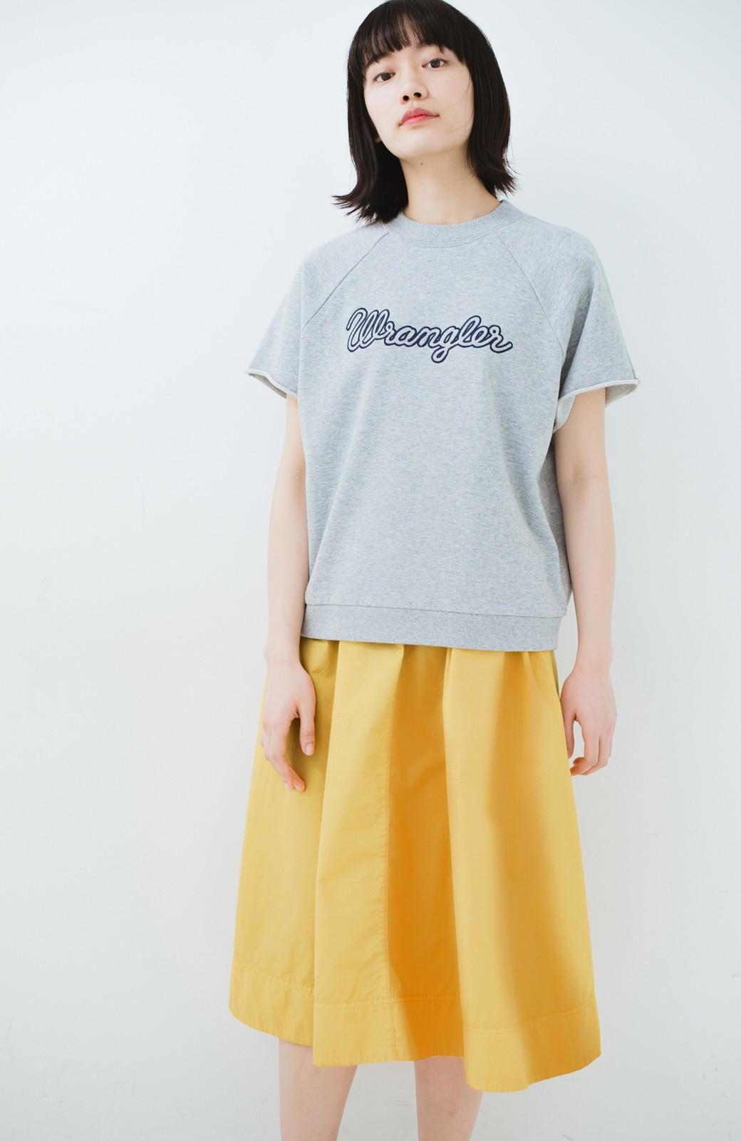 haco! 花や野菜を使って染めた 楽ちんキレイなフレアースカート <イエロー>の商品写真11