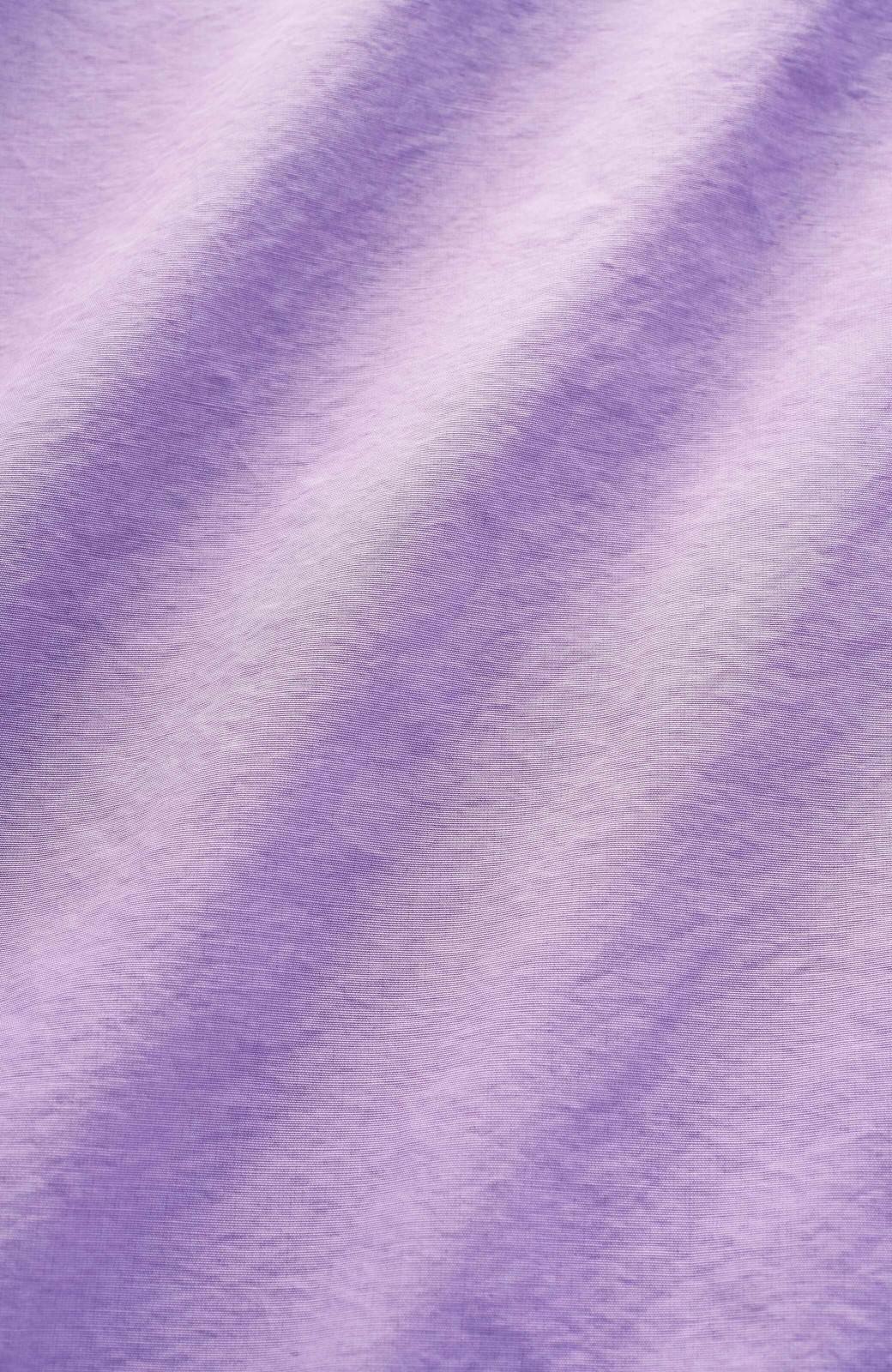 haco! 花や野菜を使って染めた 楽ちんキレイなフレアースカート <ラベンダー>の商品写真2
