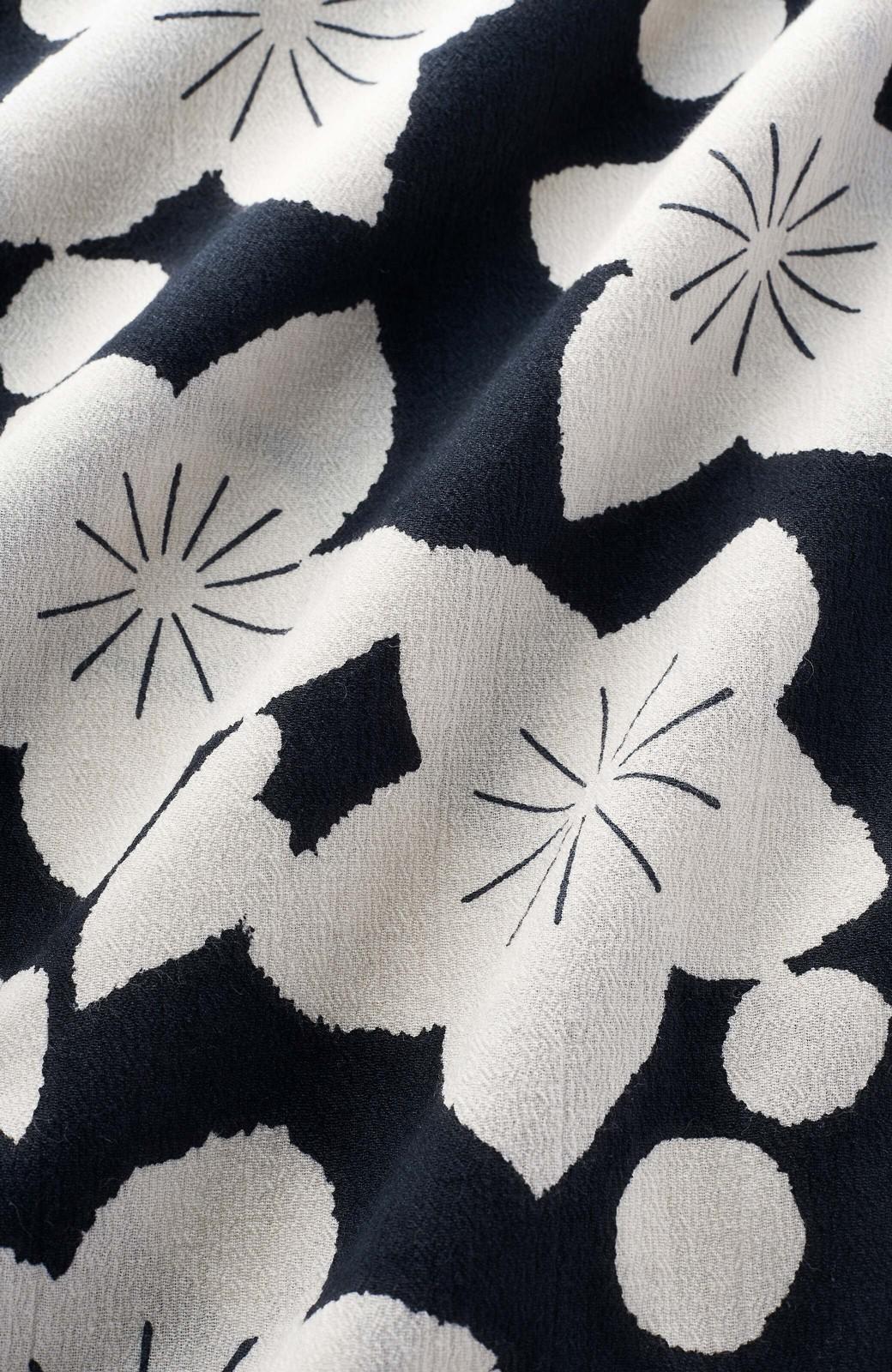 haco! 京都の浴衣屋さんと作った浴衣生地のワンピース <ブラック系その他>の商品写真3