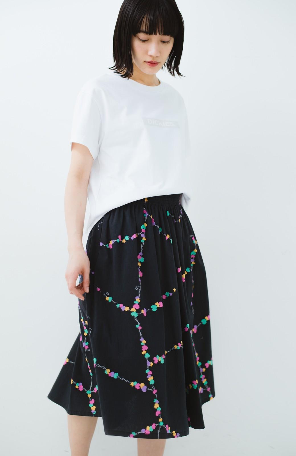 haco! 京都の浴衣屋さんと作った浴衣生地のスカート <ブラック系その他>の商品写真17