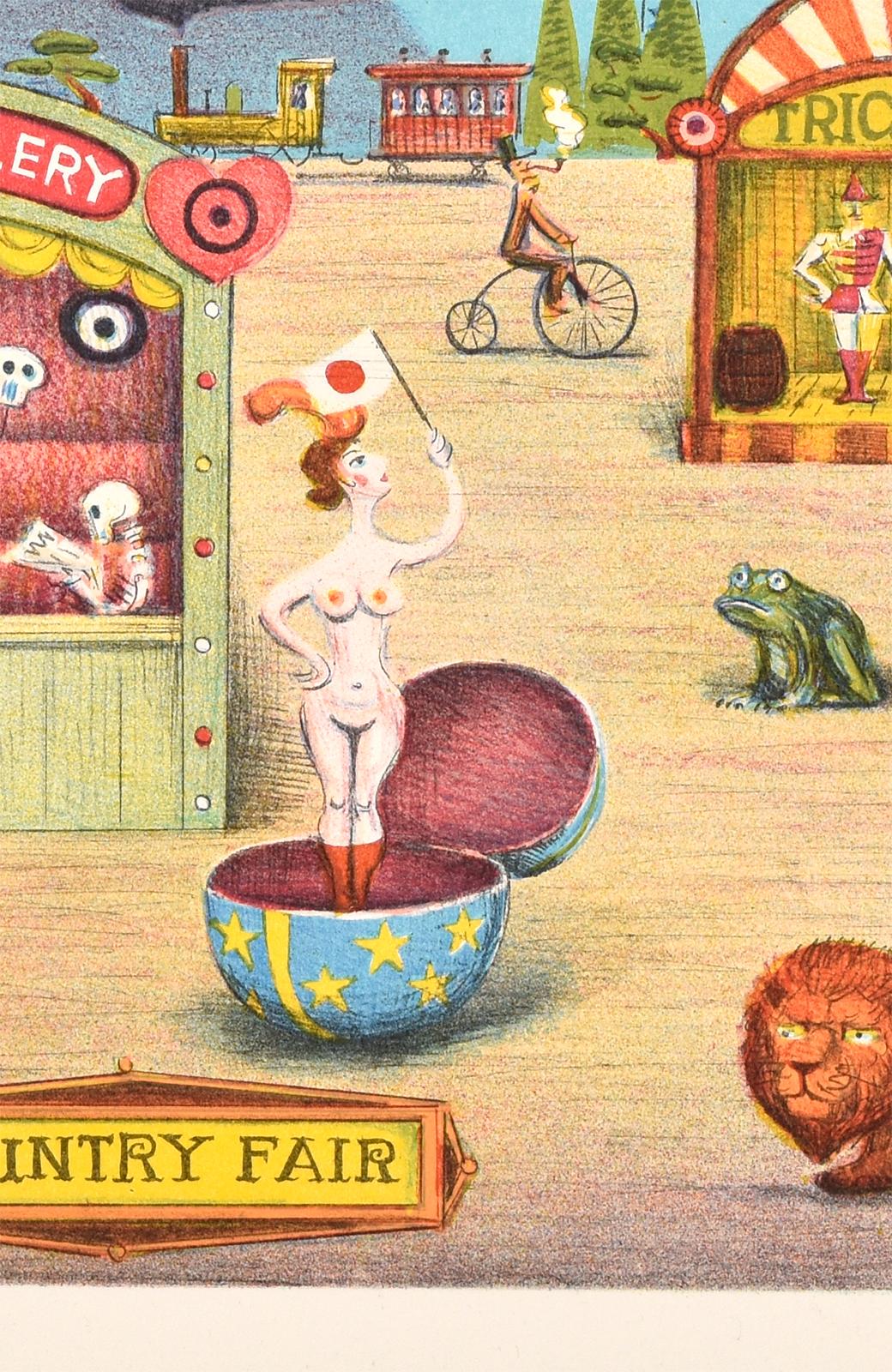 haco! 【アート】馬場檮男 「蛙のいる風景」 <その他>の商品写真6