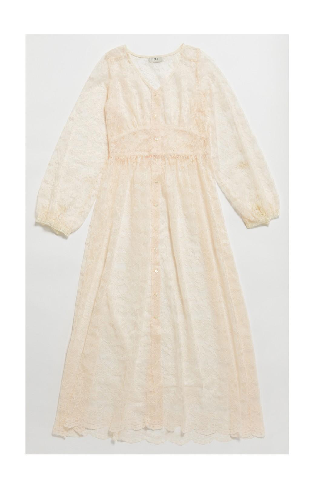 haco! KANA MATSUNAMI Lacy Maxi Dress <ホワイト>の商品写真2