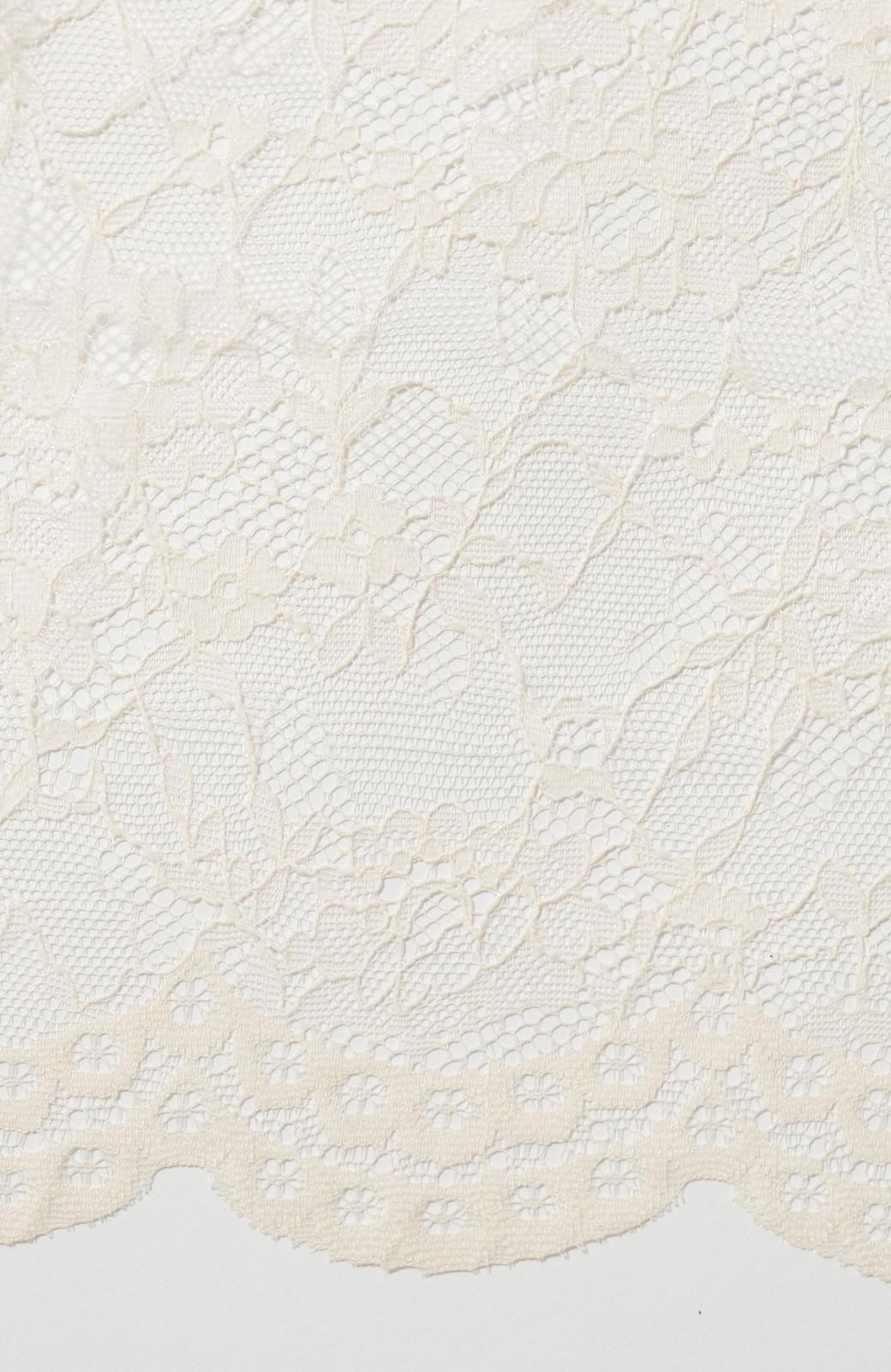 haco! KANA MATSUNAMI Lacy Maxi Dress <ホワイト>の商品写真5