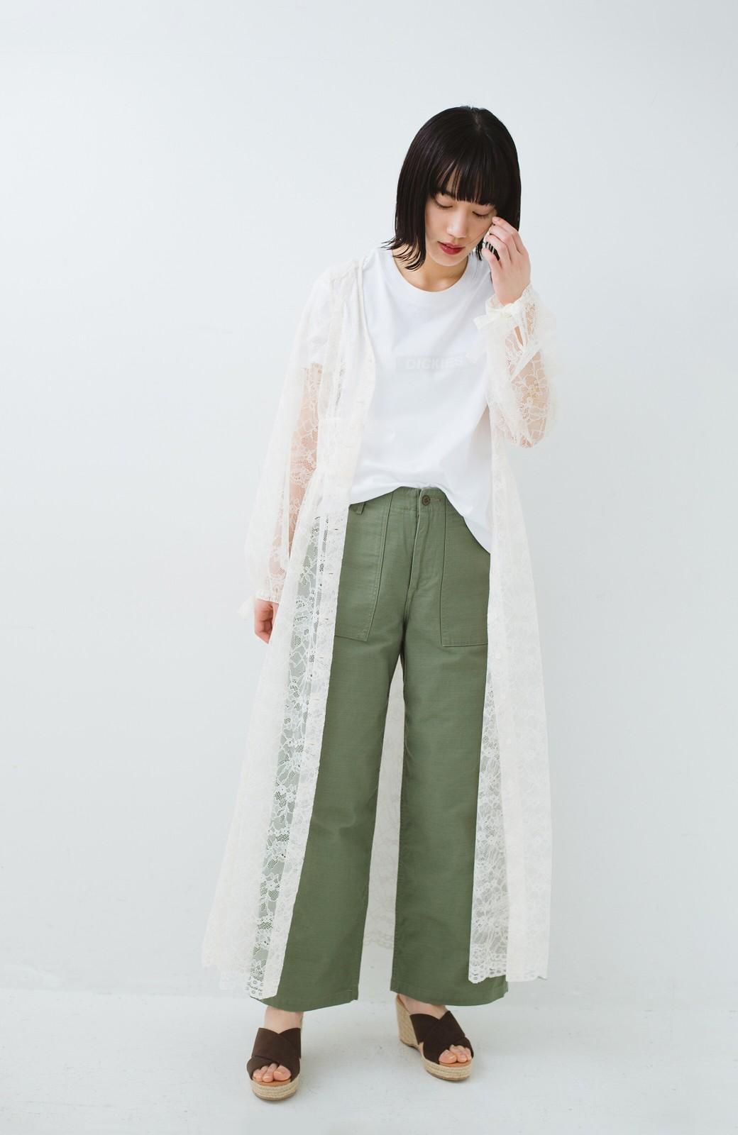 haco! KANA MATSUNAMI Lacy Maxi Dress <ホワイト>の商品写真10