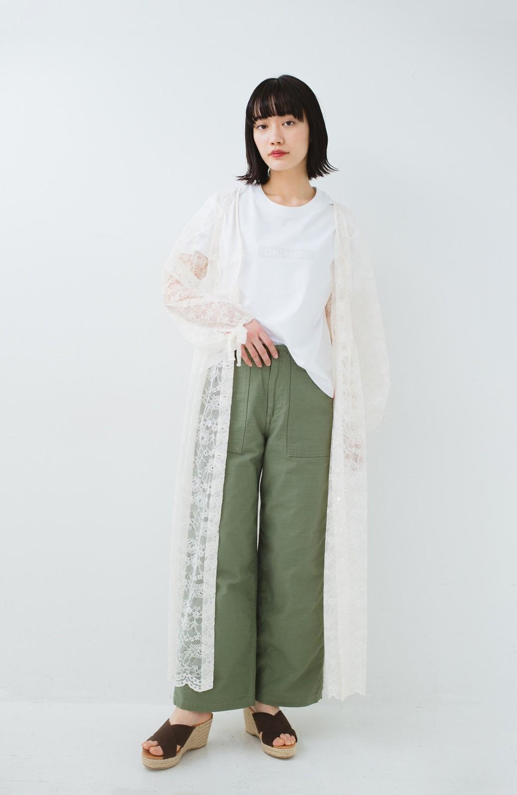 haco! KANA MATSUNAMI Lacy Maxi Dress <ホワイト>の商品写真11
