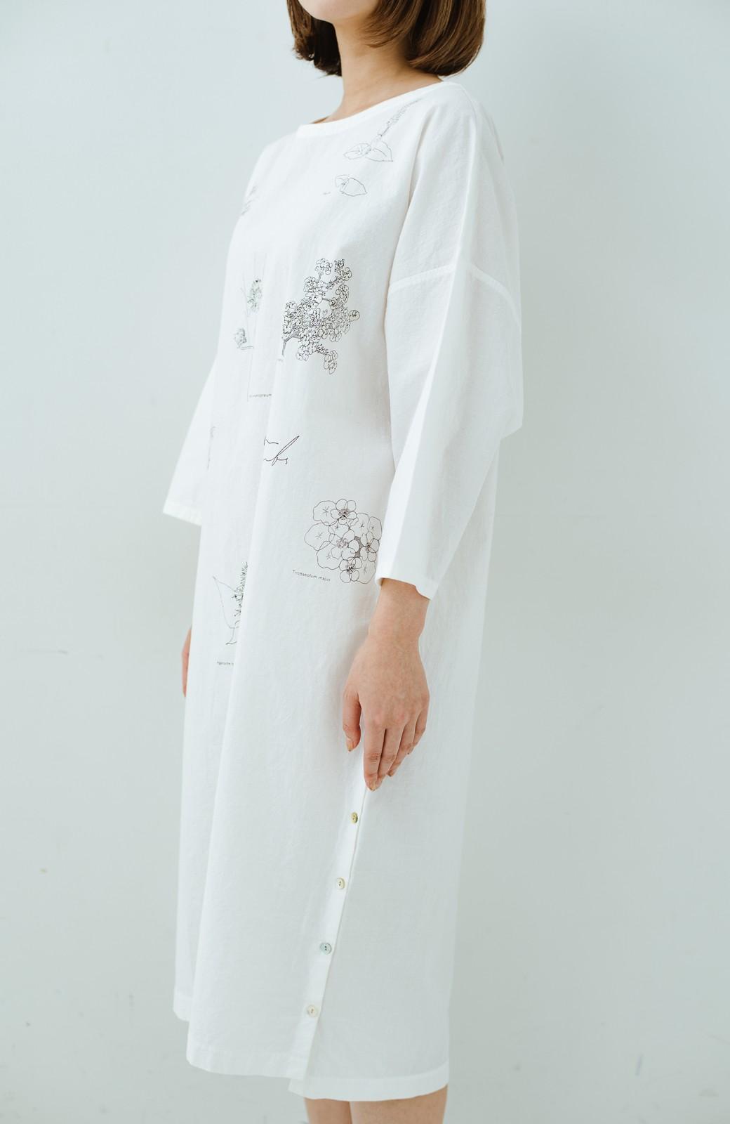 haco! てとひとて Miho Umezawa ガーデンハーブドルマンチュニック <オフホワイト>の商品写真3