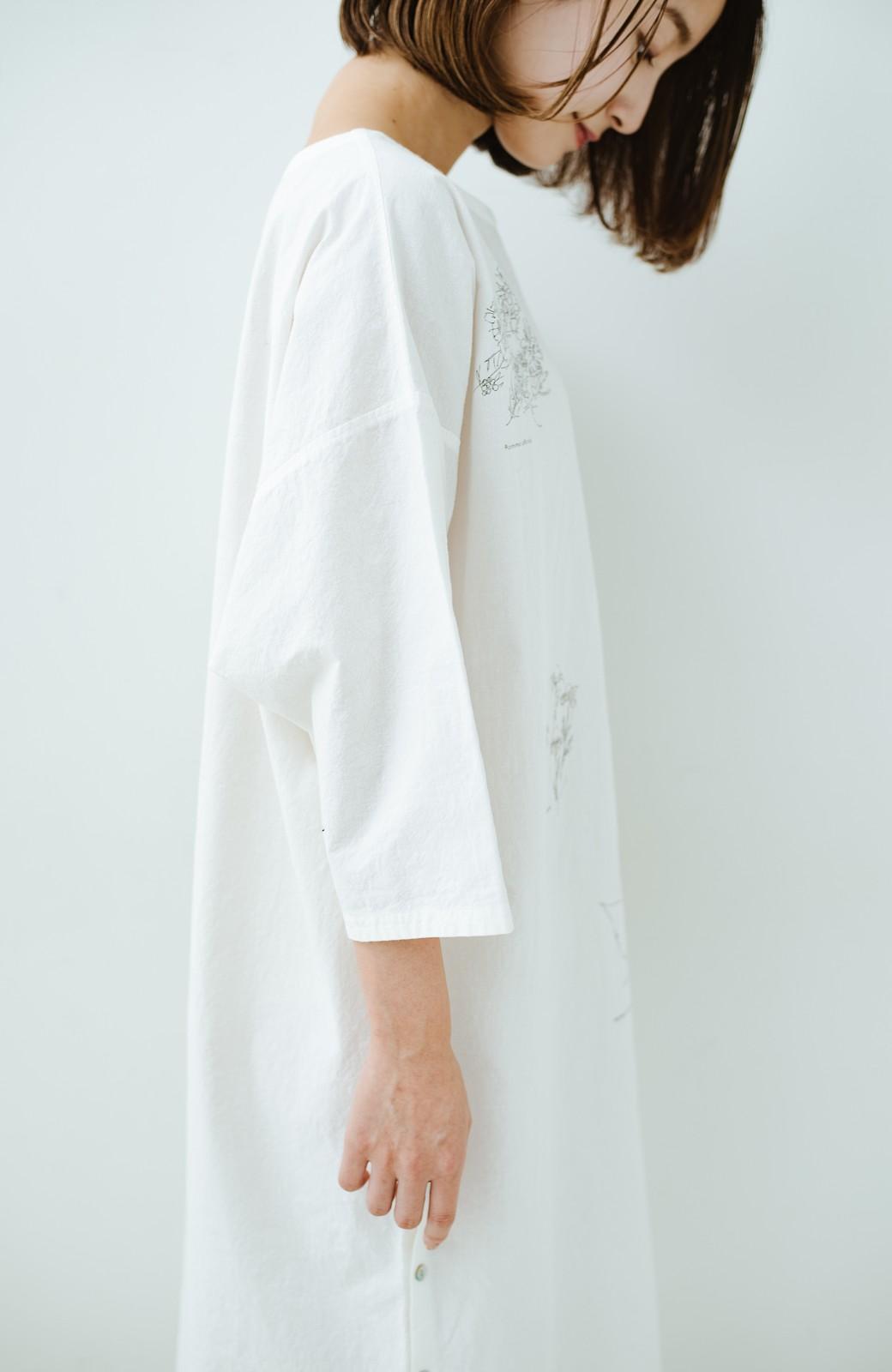 haco! てとひとて Miho Umezawa ガーデンハーブドルマンチュニック <オフホワイト>の商品写真4