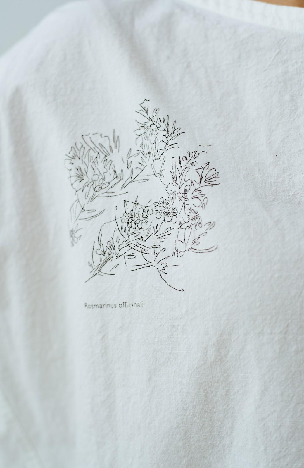 haco! てとひとて Miho Umezawa ガーデンハーブドルマンチュニック <オフホワイト>の商品写真5