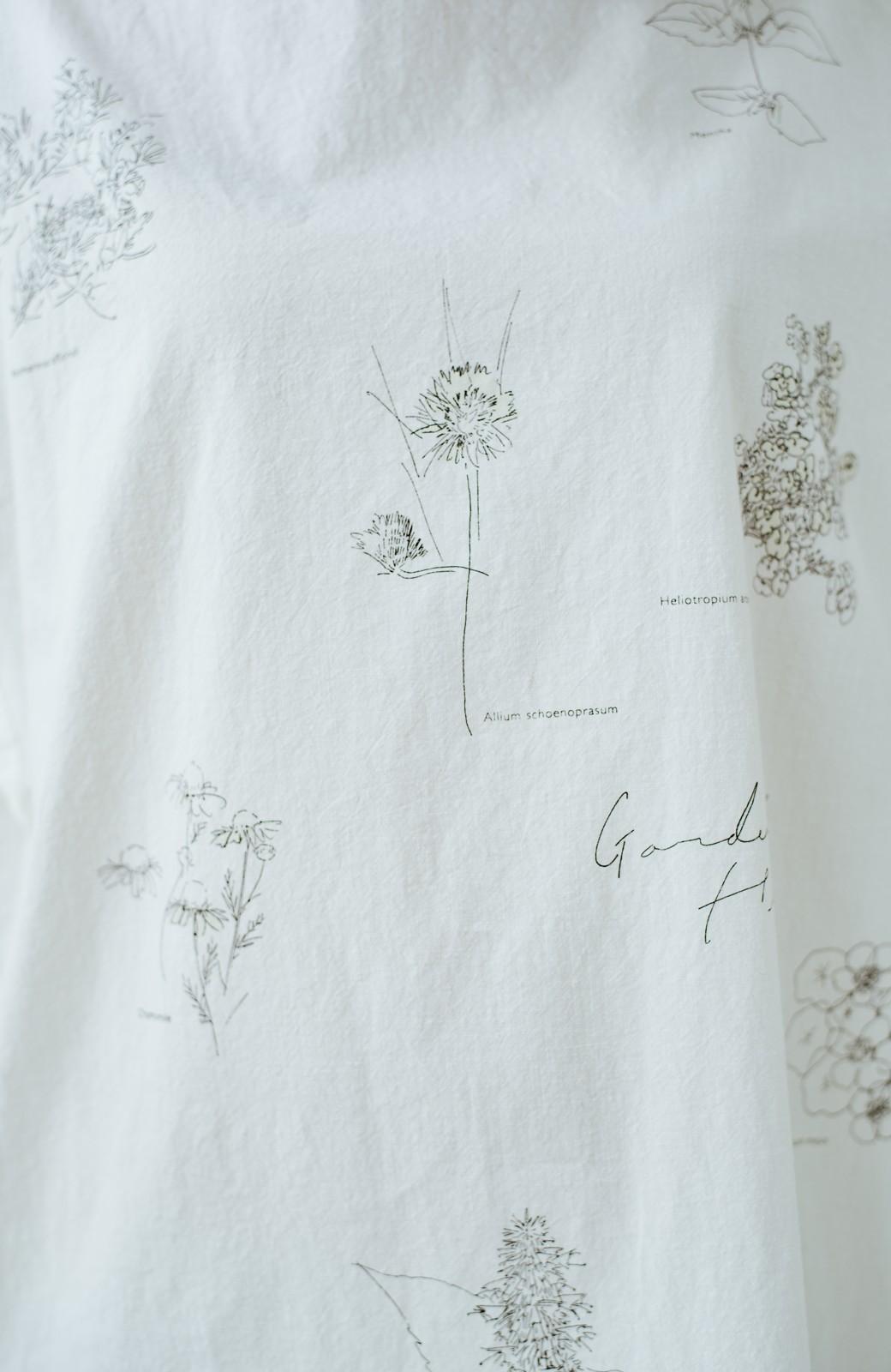 haco! てとひとて Miho Umezawa ガーデンハーブドルマンチュニック <オフホワイト>の商品写真7