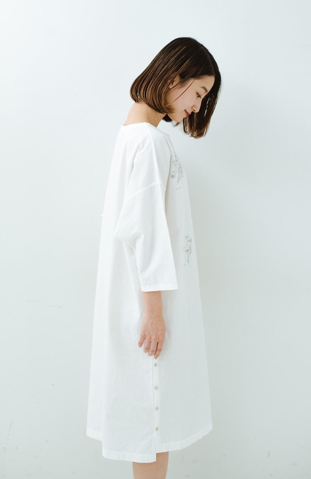 haco! てとひとて Miho Umezawa ガーデンハーブドルマンチュニック <オフホワイト>の商品写真17