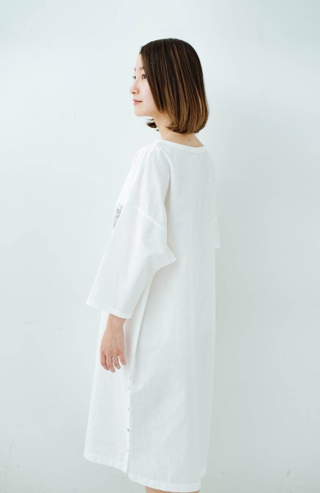 haco! てとひとて Miho Umezawa ガーデンハーブドルマンチュニック <オフホワイト>の商品写真18