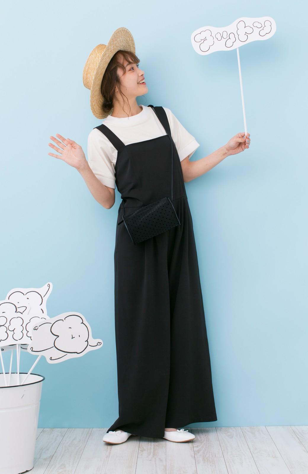 haco! PBP 高橋愛さんコラボ 手描きハート刺しゅうがかわいいコットンリンガーTシャツ <アイボリー>の商品写真6