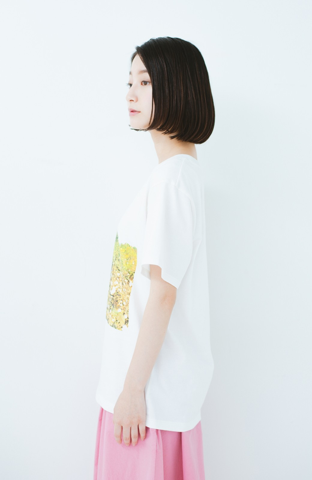 haco! PBP コットン畑のストリートアートTシャツ <ホワイト>の商品写真9