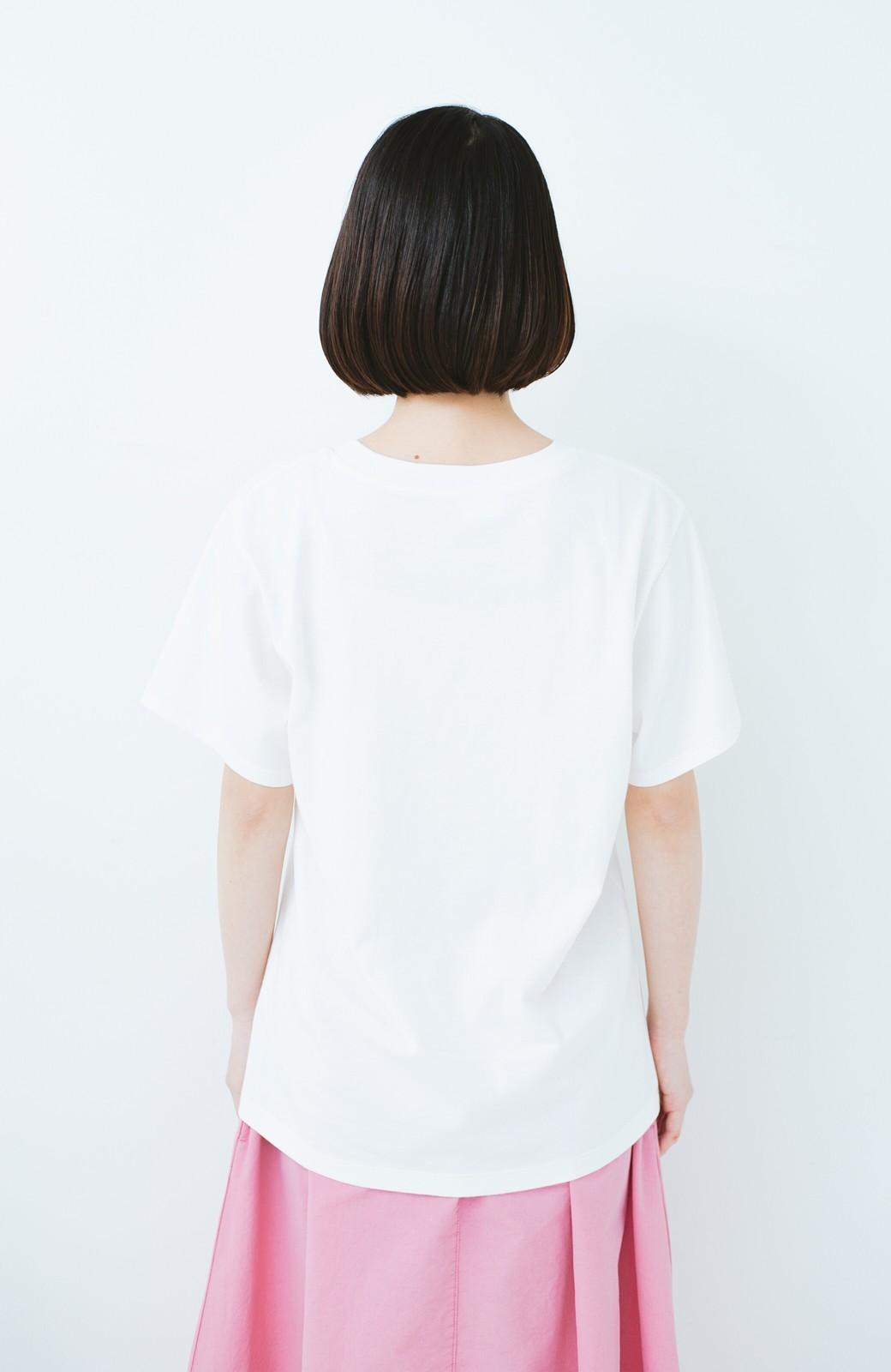 haco! PBP コットン畑のストリートアートTシャツ <ホワイト>の商品写真10