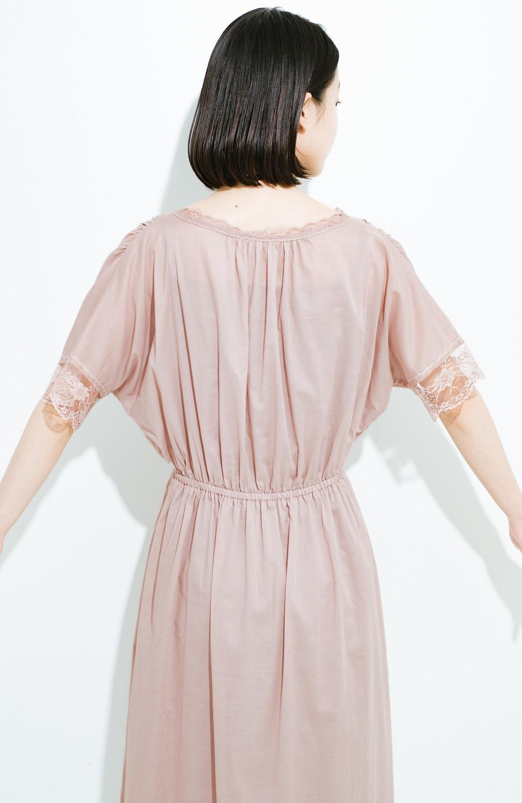 haco! 繊細レースにキュンとする 女の子ワンピース <ピンク>の商品写真14
