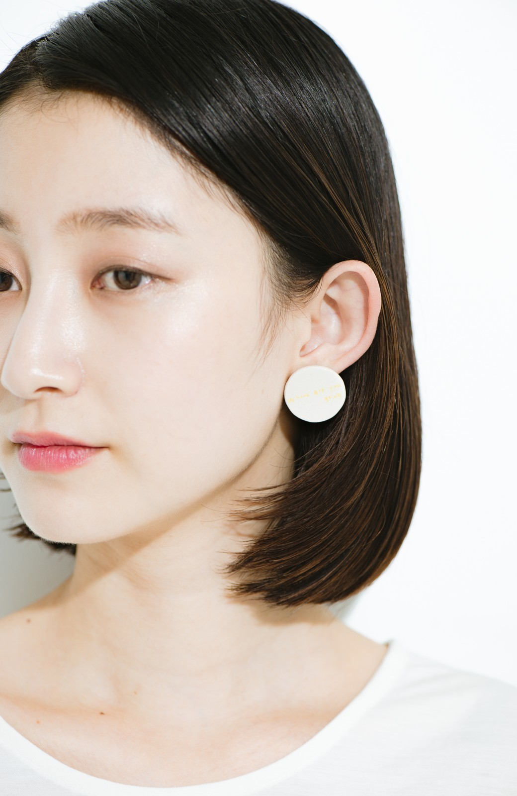 "haco! Djurgarden PIERCE_018&EARRING_003""Where are you going"" <ホワイト>の商品写真3"