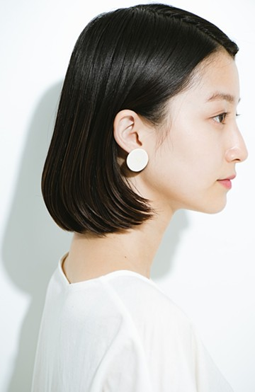 "haco! Djurgarden PIERCE_018&EARRING_003""YES""<ホワイト>の商品写真"