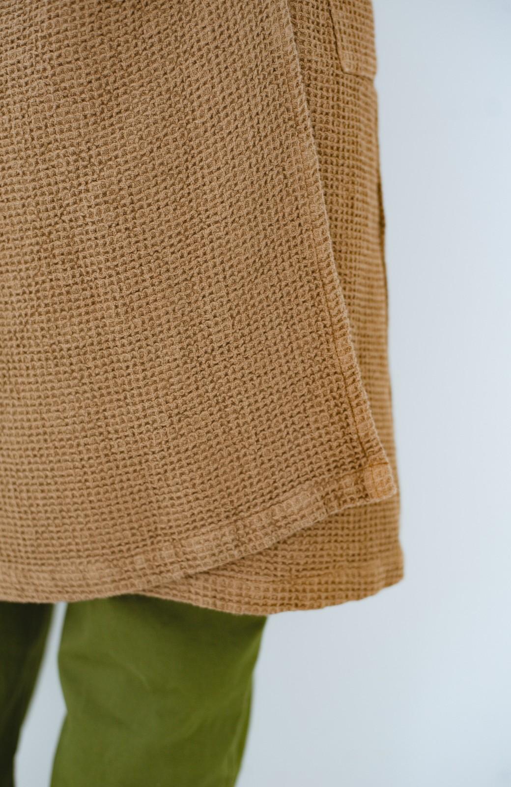 haco! コルトレイクリネン ラップスカートエプロン <ブラウン>の商品写真3