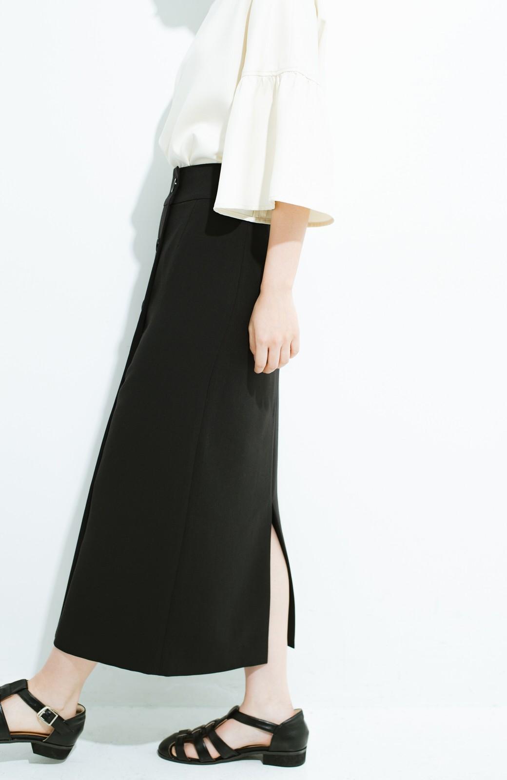 haco! はいてこそ見える実力、セミフォーマルにも使えるオトナのタイトスカート by MAKORI <ブラック>の商品写真5