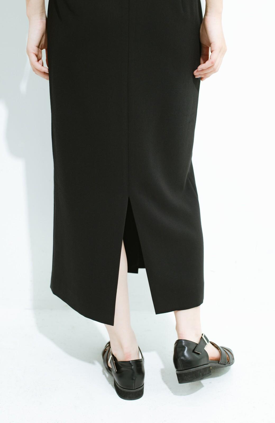 haco! はいてこそ見える実力、セミフォーマルにも使えるオトナのタイトスカート by MAKORI <ブラック>の商品写真6