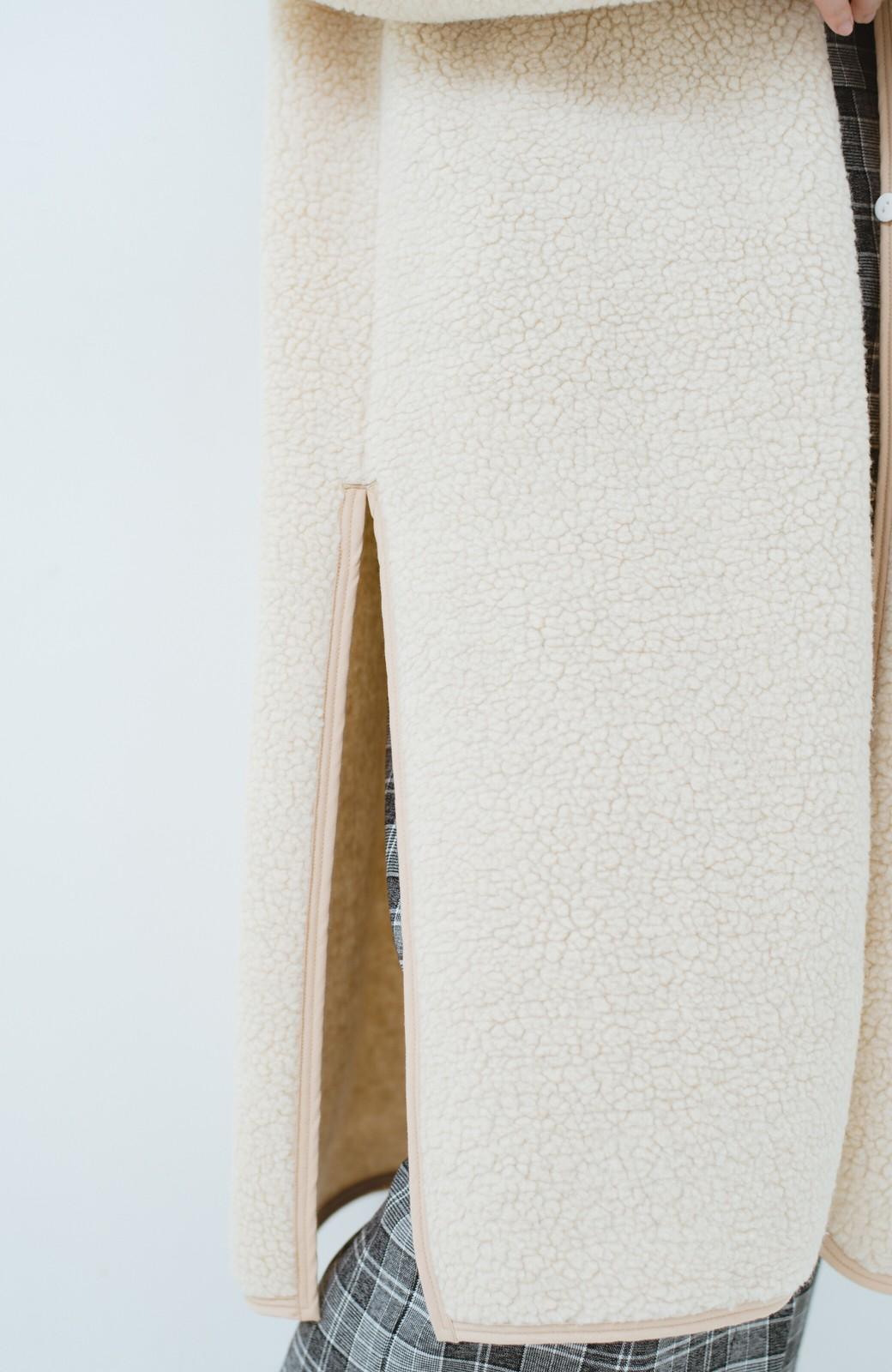 haco! 季節の始まりに早く買って絶対後悔しない、立ち姿が美しいオトナのライナー付きトレンチコートbyMAKORI <ベージュ>の商品写真7