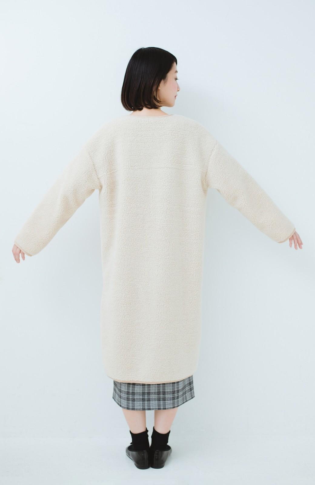 haco! 季節の始まりに早く買って絶対後悔しない、立ち姿が美しいオトナのライナー付きトレンチコートbyMAKORI <ベージュ>の商品写真16