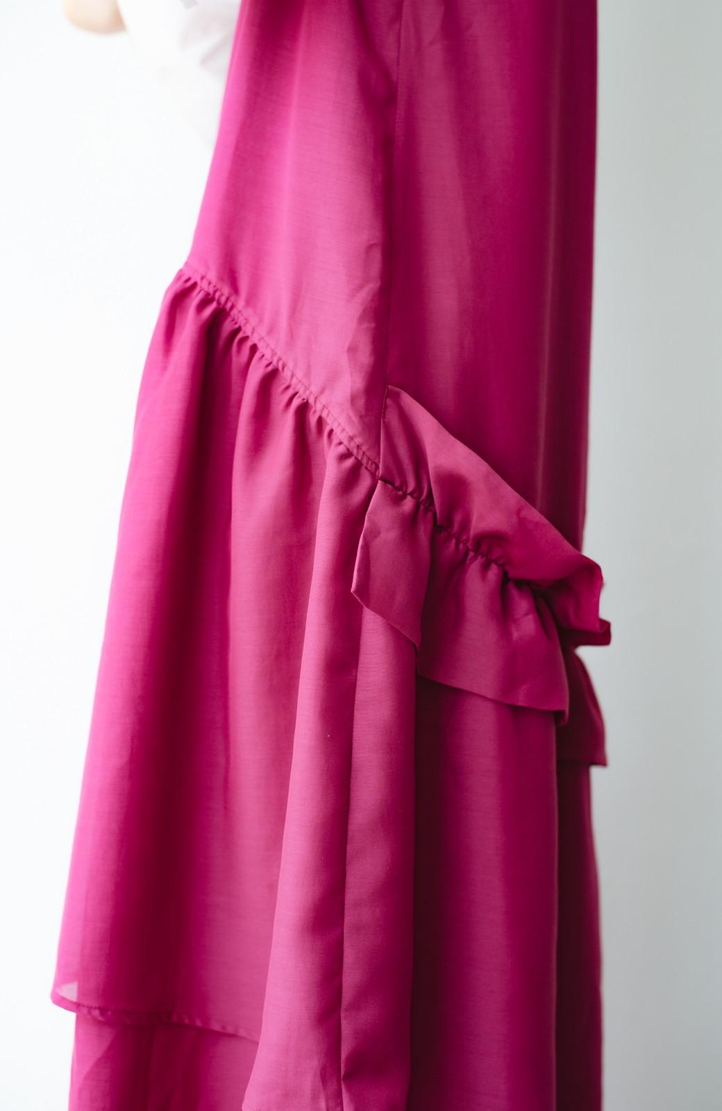 haco! てとひとて KANA MATSUNAMI  ティアードキャミドレス  <ピンク>の商品写真5