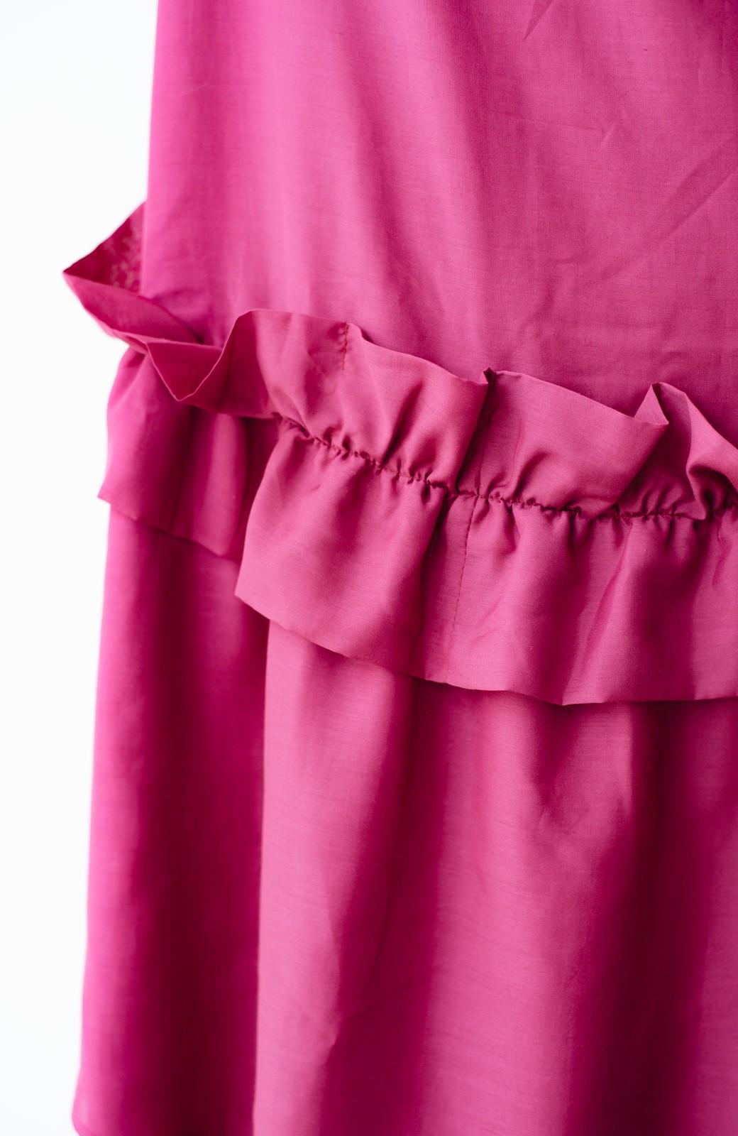 haco! てとひとて KANA MATSUNAMI  ティアードキャミドレス  <ピンク>の商品写真6