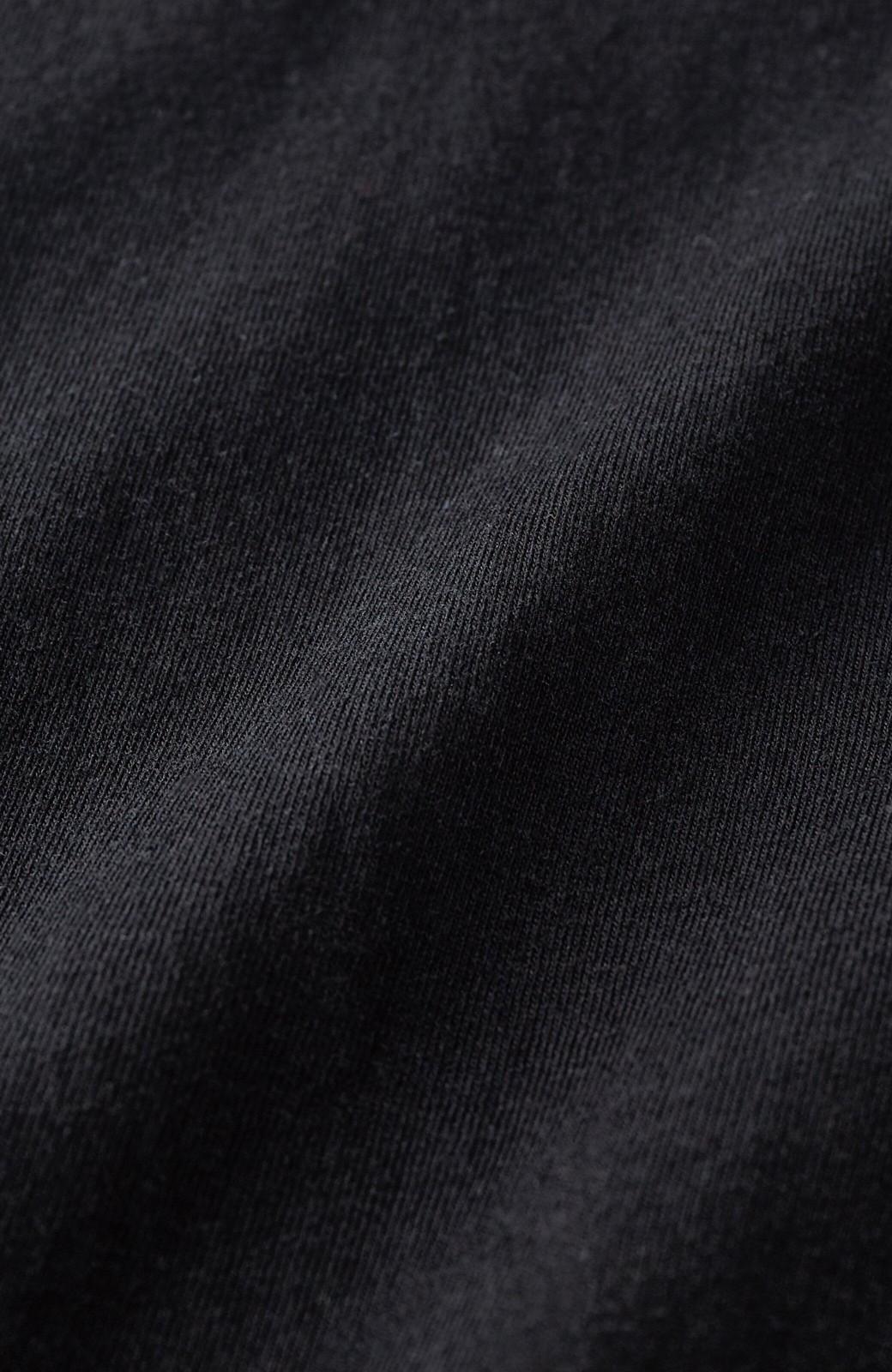 haco! 女の子バンザイ!プロジェクト 【ブルー期】PBPオーガニックコットンのおなかポケット付きTシャツ <ブラック>の商品写真4