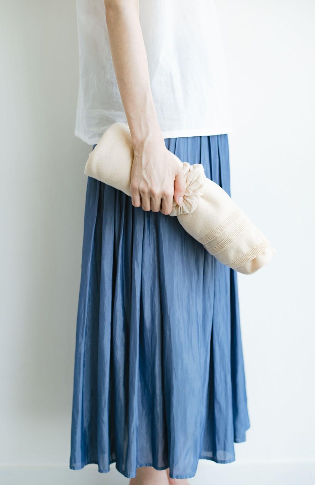 haco! 持ち運びベンリな冷え対策カーディガン【ブルー期】女の子バンザイ!プロジェクト <ベージュ>の商品写真8