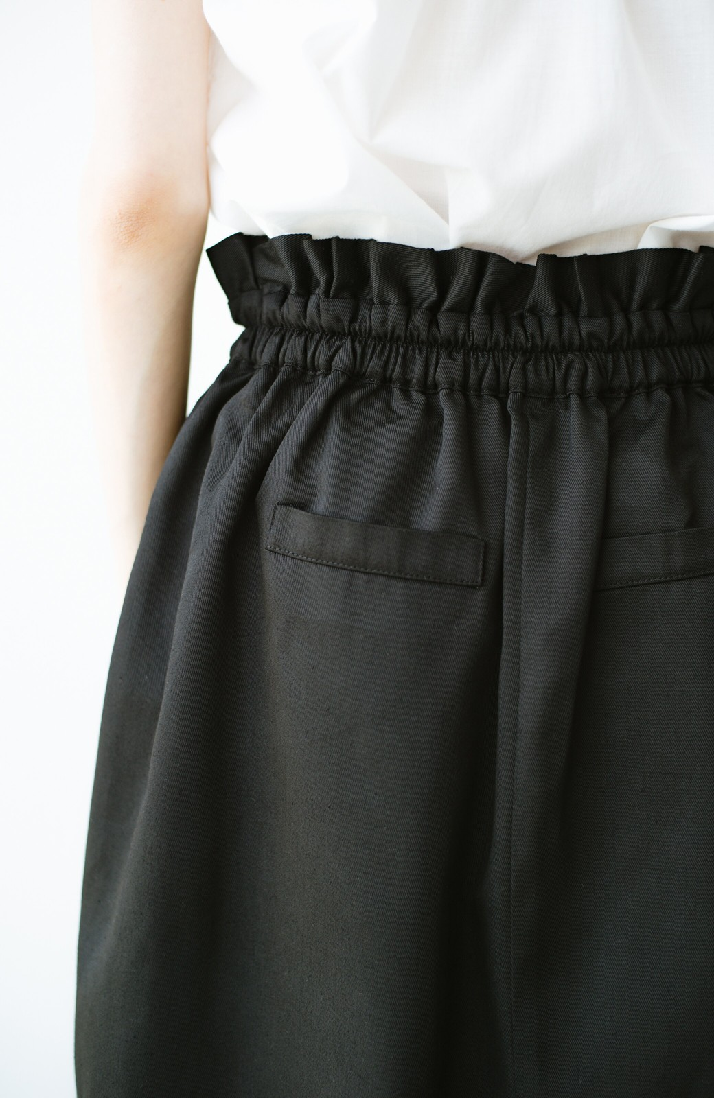 haco! 華やかになるなら今だ!女っぽタックスカート【キラキラ期】女の子バンザイ!プロジェクト <ブラック>の商品写真12