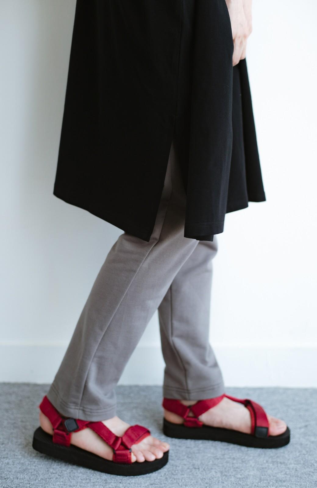 haco! PBPオーガニックコットンのとにかく動きやすくてラクチンなTシャツワンピース&レギンスセット【まったり期~もやもや期】女の子バンザイ!プロジェクト <ブラック>の商品写真8
