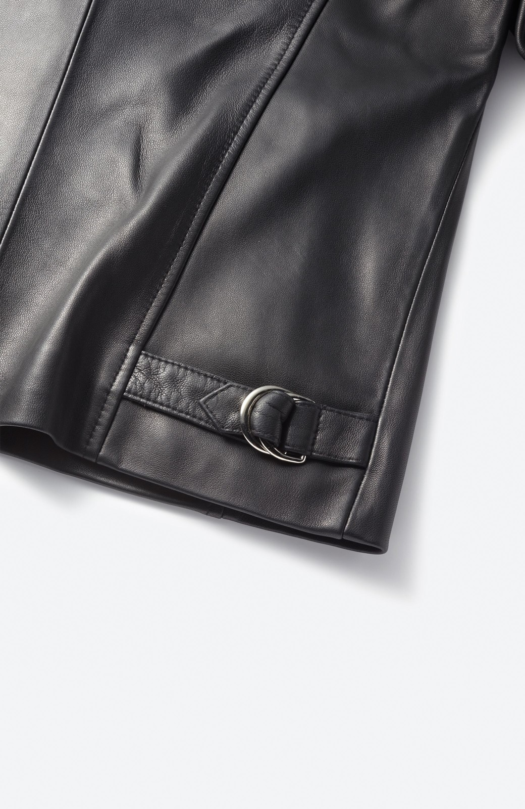 haco! BOLSISTA ブラックライダースジャケット<シングル> <ブラック>の商品写真2