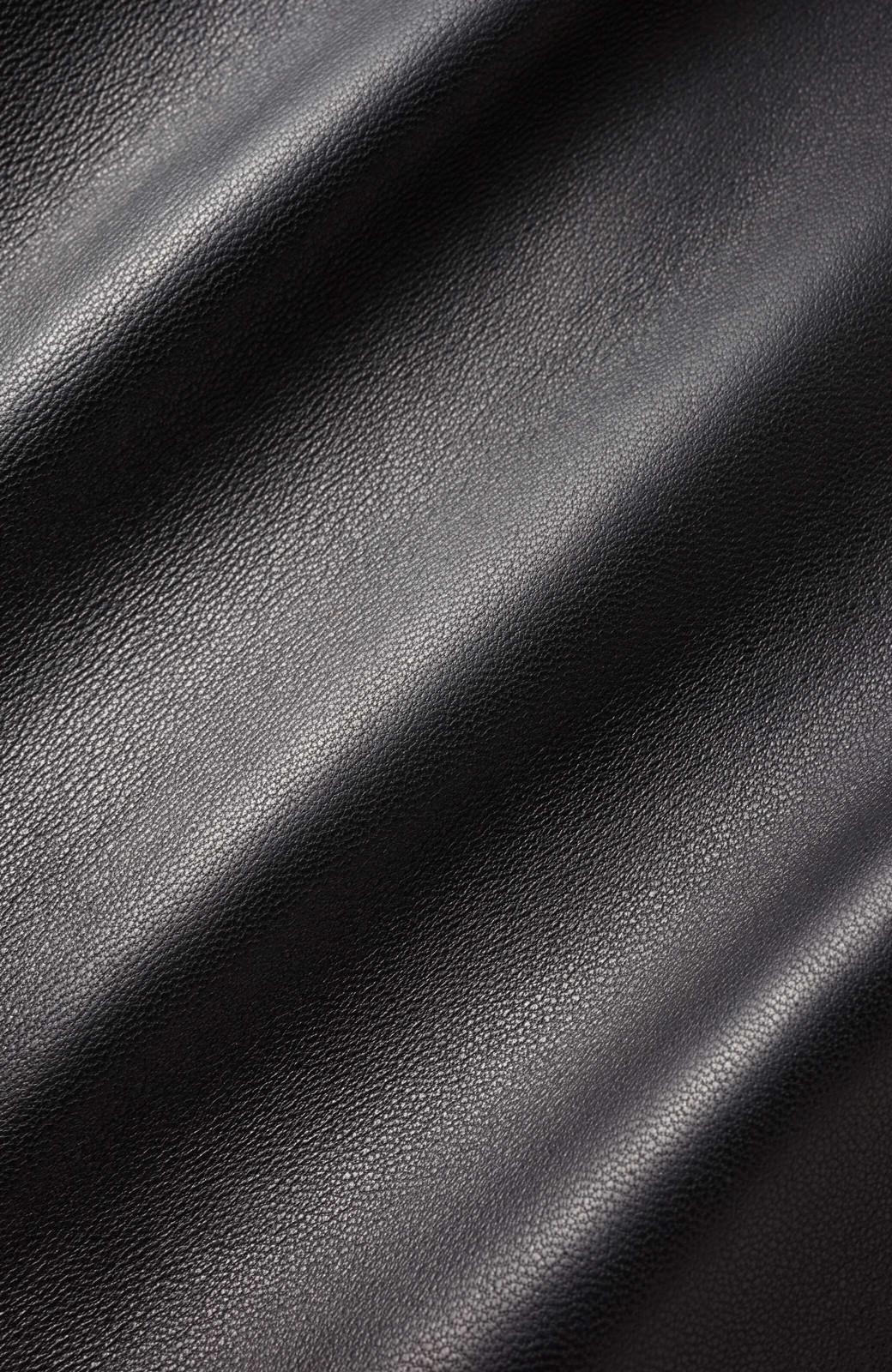 haco! BOLSISTA ブラックライダースジャケット<ダブル> <ブラック>の商品写真2