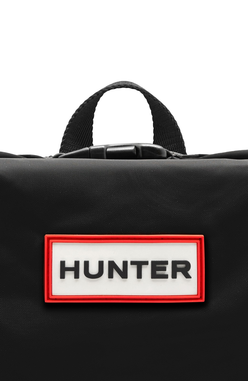 haco! HUNTER オリジナル トップクリップバックパック ナイロン <ブラック>の商品写真5