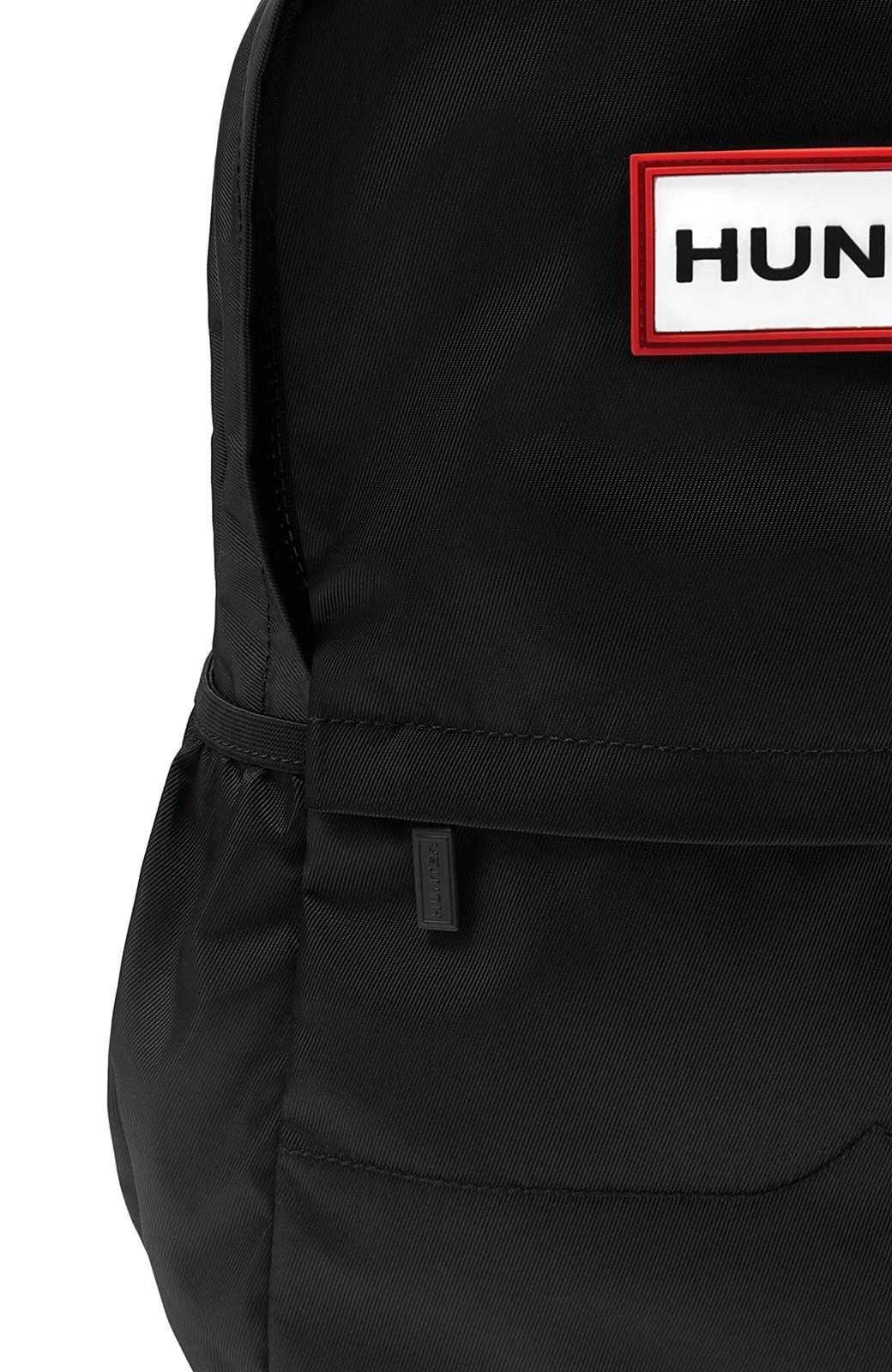 haco! HUNTER オリジナルナイロンバックパック S <ブラック>の商品写真6