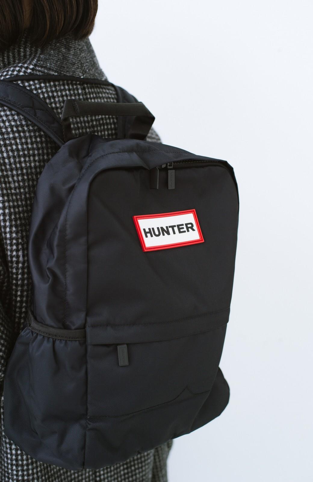 haco! HUNTER オリジナルナイロンバックパック S <ブラック>の商品写真1