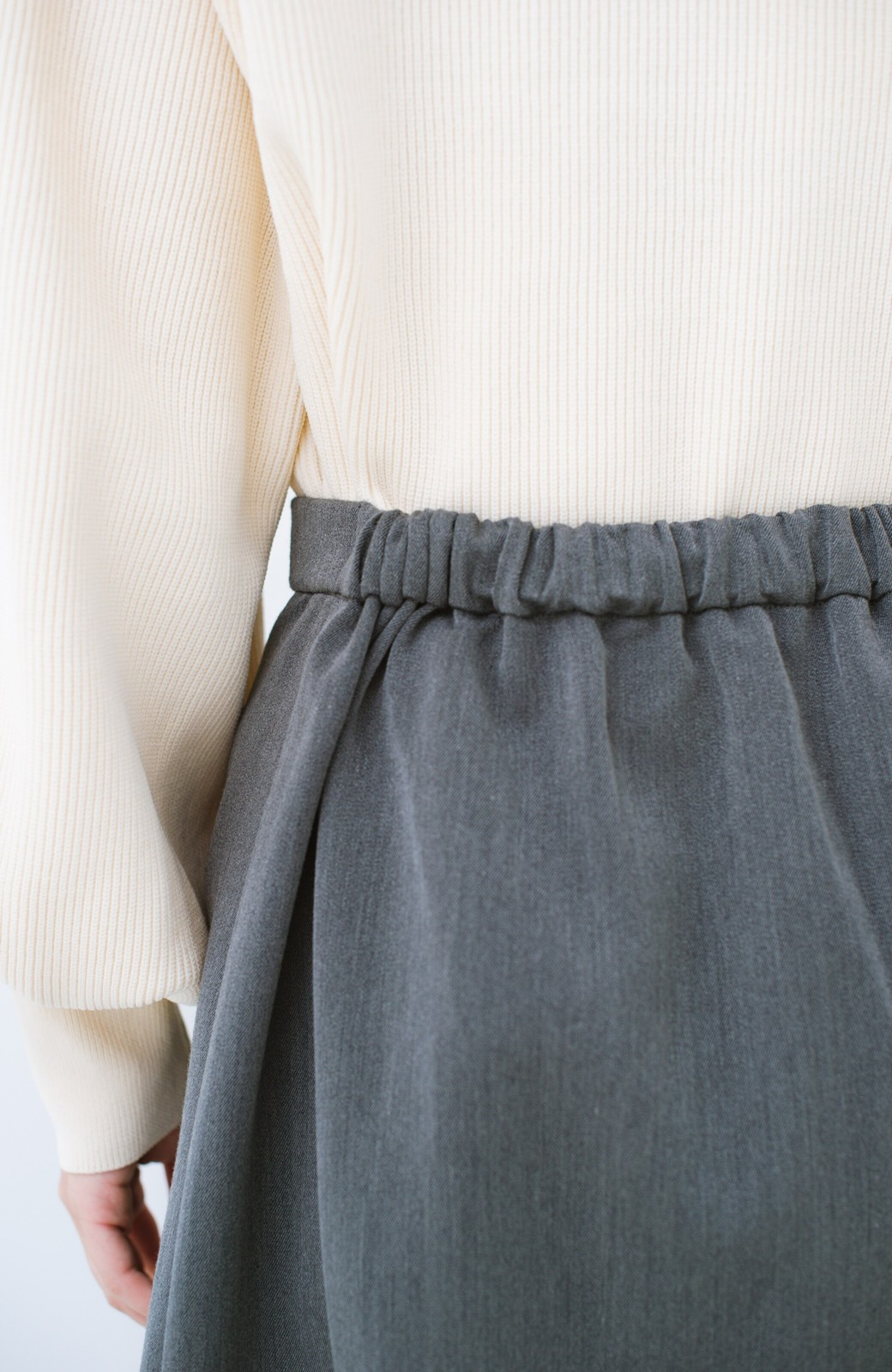 haco! いつものトップスにプラスするだけでパッと気分が変わる 楽ちんチェックプリーツスカート <ブラウン系その他>の商品写真8