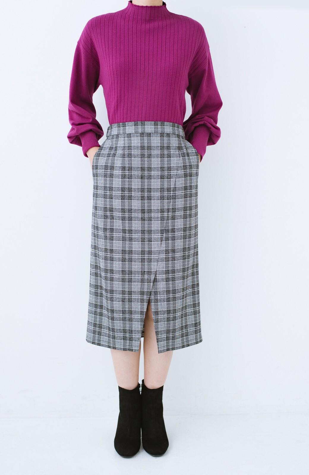 haco! パッと履いてスッときれいな女っぽブーツ <ブラック>の商品写真2